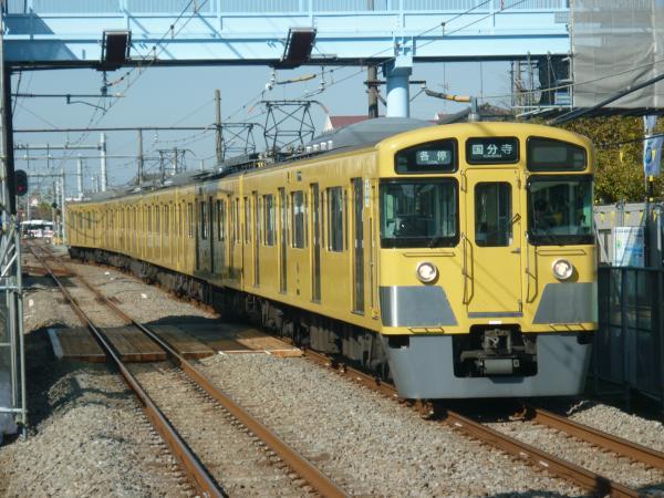 2014-11-23 西武2049F 各停国分寺行き 6660レ