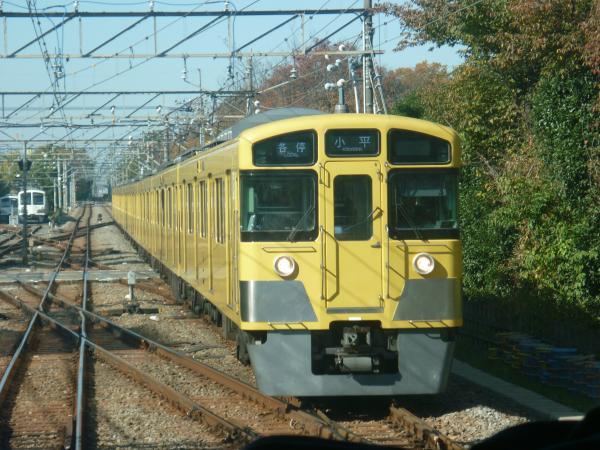 2014-11-23 西武2067F 各停小平行き 5556レ