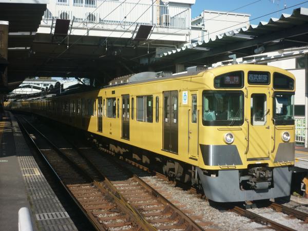 2014-11-23 西武2083F 急行西武新宿行き2 2324レ