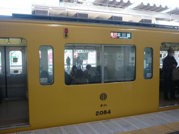 2014-11-23 西武2083F 急行本川越行き 側面写真