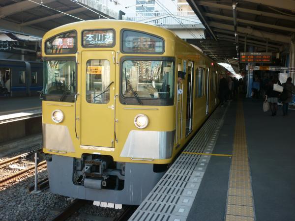2014-11-23 西武2083F 急行本川越行き1 2647レ