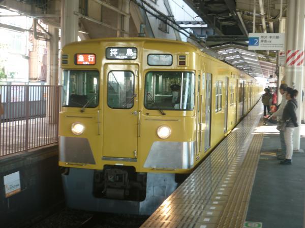 2014-11-23 西武2519F+2033F 急行拝島行き1 2315レ