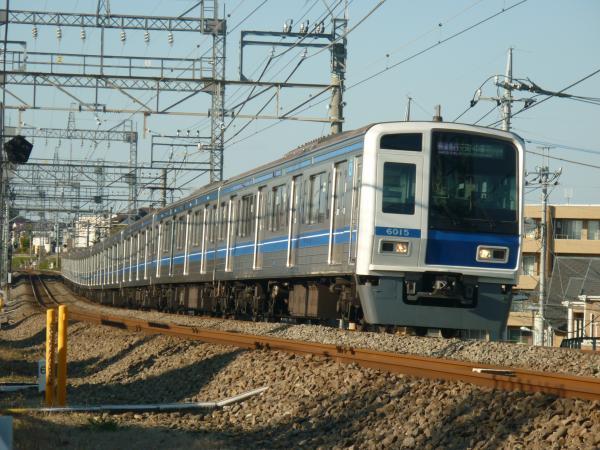 2014-11-23 西武6115F 快速急行元町・中華街行き 1860レ