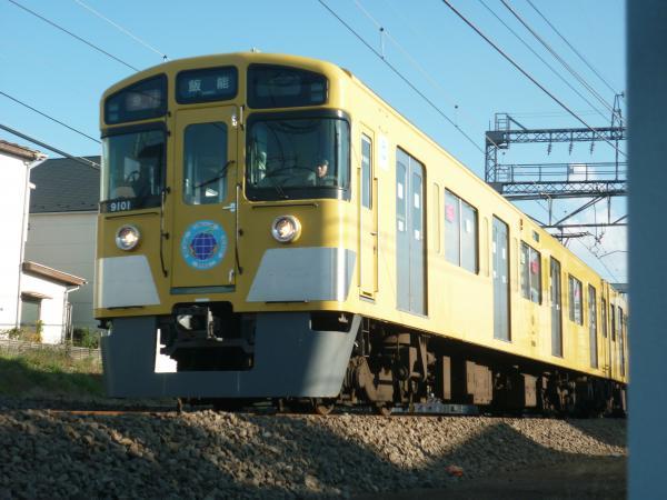 2014-11-23 西武9101F 急行飯能行き 2137レ