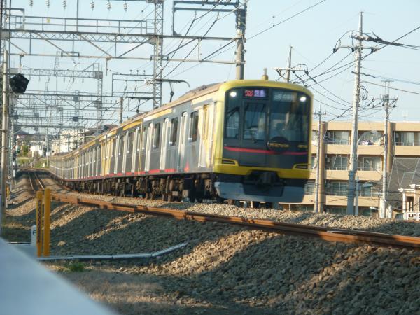 2014-11-23 東急4110F 快急元町・中華街行き 1718レ