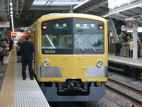 2014-02-28 西武3007F 各停国分寺行き2