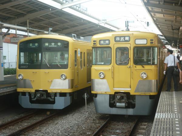 2014-07-28 西武3007F 2011F