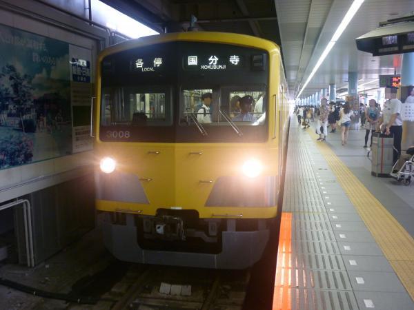 2014-07-28 西武3007F 各停国分寺行き 5713レ