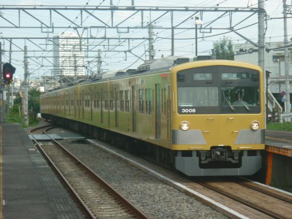 2014-07-28 西武3007F 各停国分寺行き 6261レ
