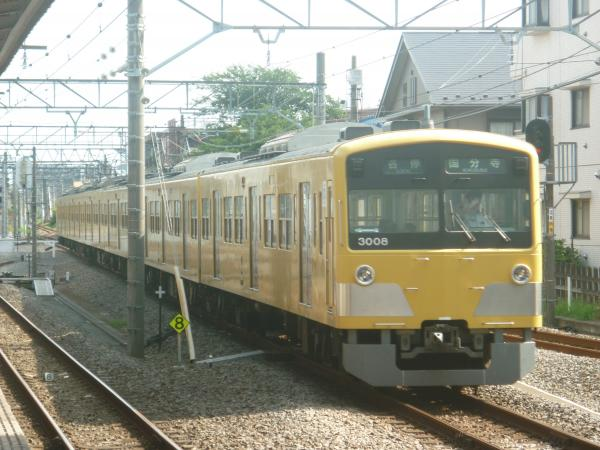 2014-07-28 西武3007F 各停国分寺行き 6706レ