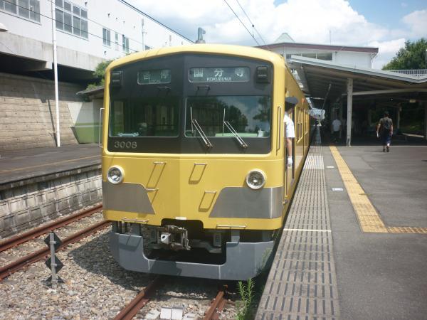 2014-07-28 西武3007F 各停国分寺行き1-1 6252レ