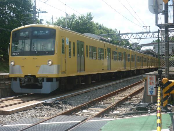 2014-07-28 西武3007F 各停国分寺行き1-4 6252レ