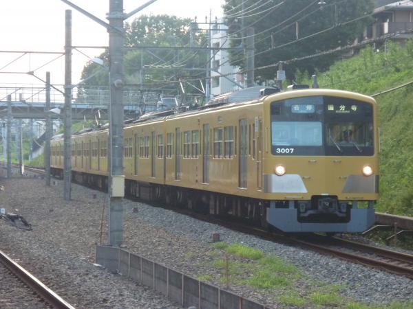 2014-08-20 西武3007F 各停国分寺行き