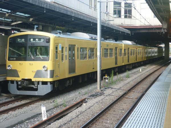 2014-08-20 西武3007F 各停東村山行き