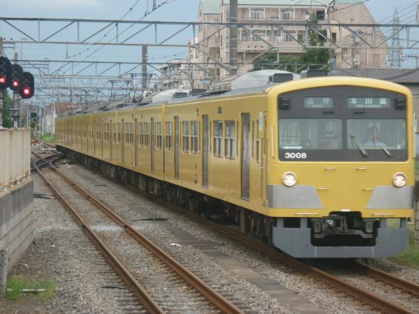 2014-08-23 西武3007F 各停本川越行き 5703レ