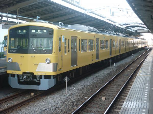 2014-10-11 西武3007F 各停国分寺行き1 6700レ