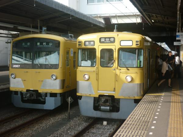 2014-10-11 西武3007F 2029F 1