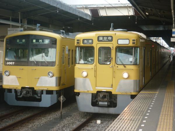 2014-10-11 西武3007F 2029F 2