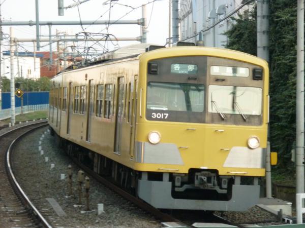 2014-03-09 西武3017F 各停豊島園行き1