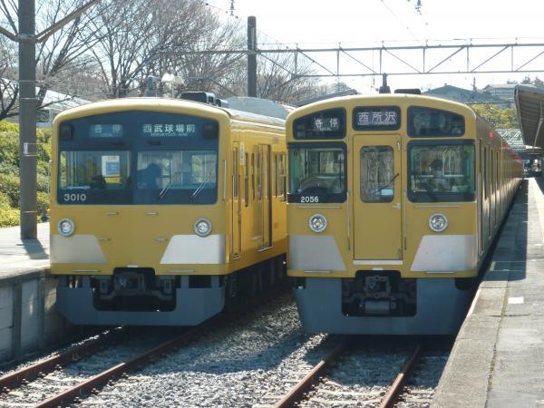 2014-03-15 西武3009F 2055F 1