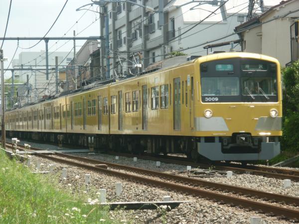 2014-05-01 西武3009F 準急所沢行き 4307レ