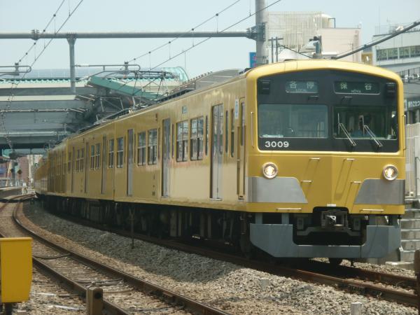 2014-08-01 西武3009F 各停保谷行き 5719レ