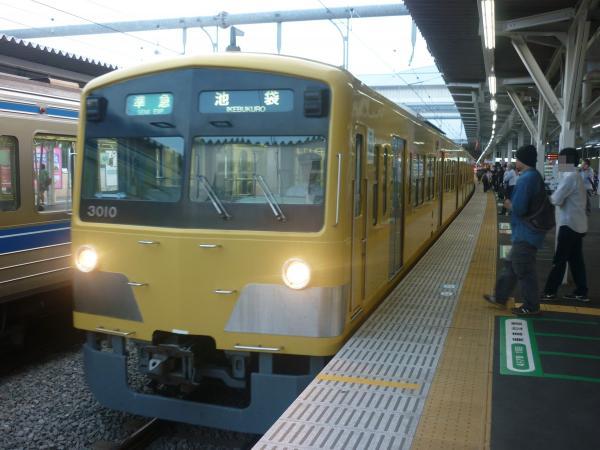 2014-10-11 西武3009F 準急池袋行き 4354レ