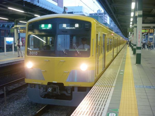 2014-10-11 西武3009F 準急池袋行き2 4354レ