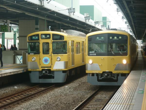 2014-11-03 西武3009F 9101F 1