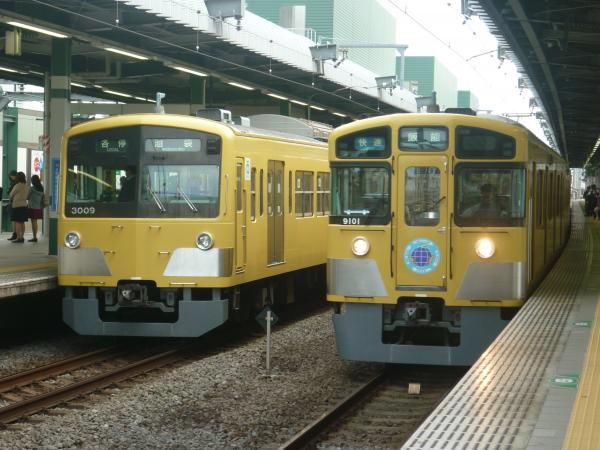 2014-11-03 西武3009F 9101F 2