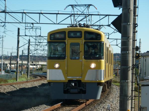 2014-12-06 西武2459F+2531F+2533F 急行池袋行き 2121レ