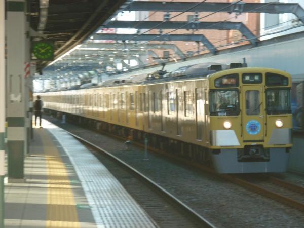 2014-12-06 西武9104F 急行飯能行き 2113レ