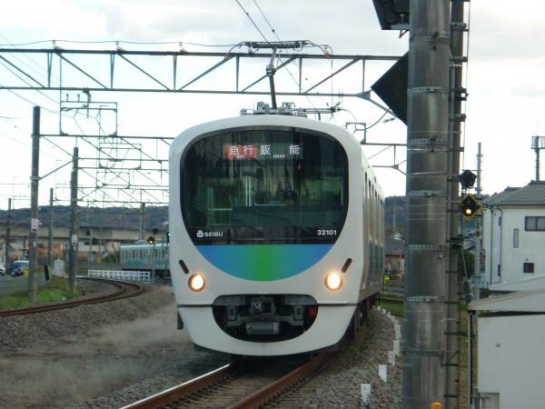 2014-12-06 西武32101F+38103F 急行飯能行き 2127レ
