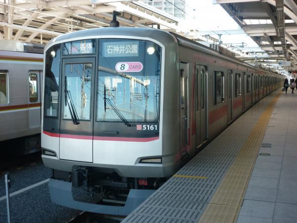 2014-12-06 東急5161F 各停石神井公園行き 6603レ