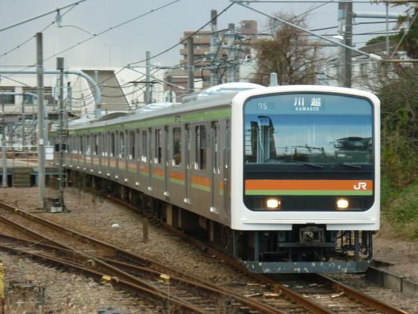 2014-12-06 八高線209系ハエ61編成 川越行き