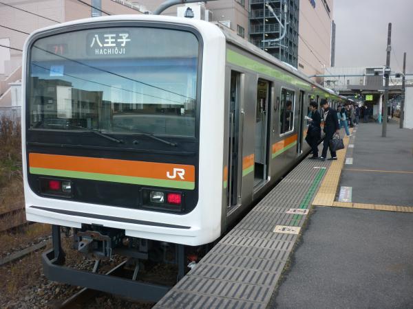 2014-12-06 八高線209系ハエ62編成 八王子行き