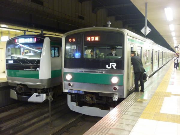 2014-12-06 埼京線205系 E233系