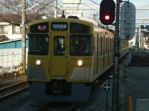 2014-12-13 西武2059F 急行西武新宿行き 2676レ