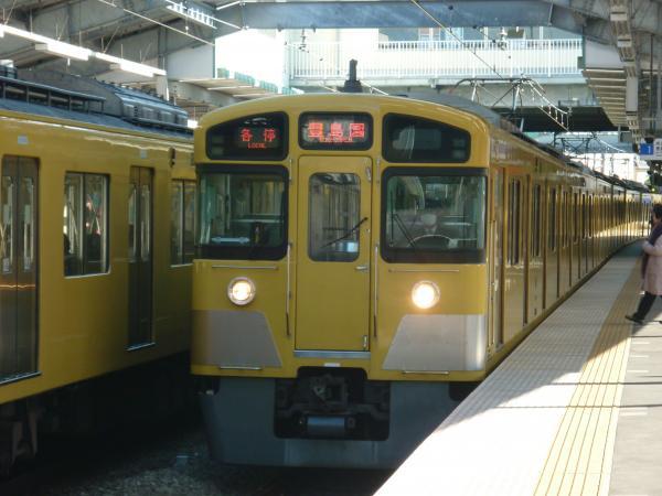 2014-01-13 西武2073F 各停豊島園行き