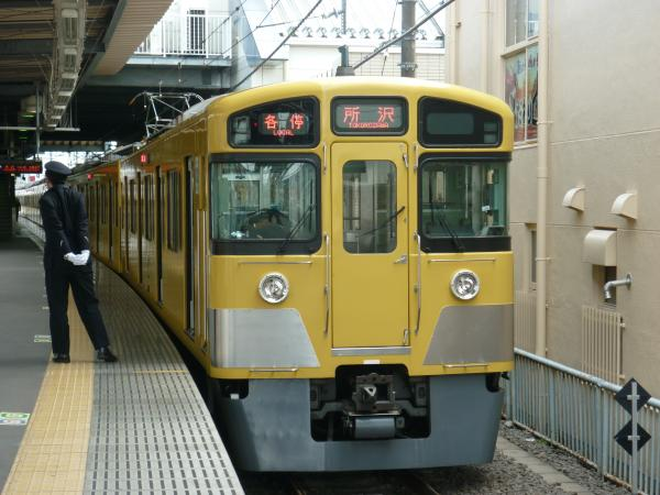 2014-02-28 西武2073F 各停所沢行き3