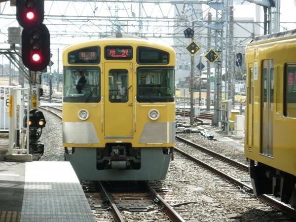 2014-02-28 西武2073F 各停所沢行き4