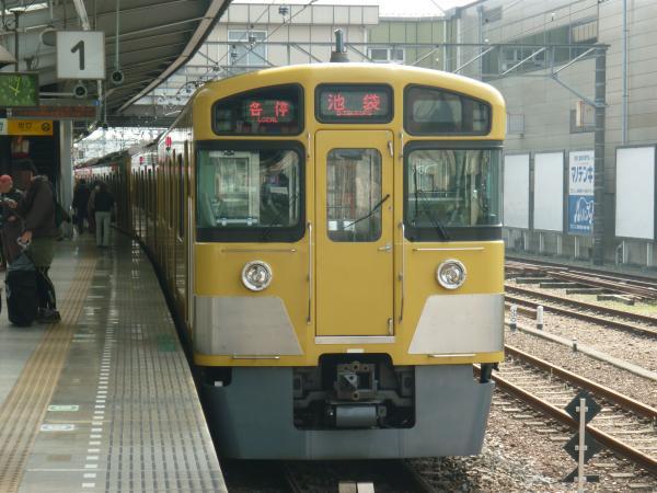 2014-03-29 西武2073F 各停池袋行き 5102レ