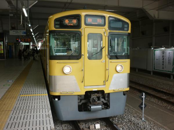 2014-03-29 西武2073F 各停飯能行き2 5107レ