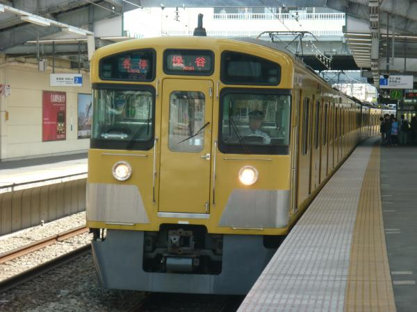 2014-04-12 西武2073F 各停保谷行き 5717レ