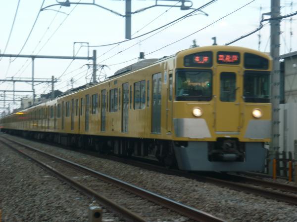 2014-05-01 西武2073F 各停豊島園行き 5509レ