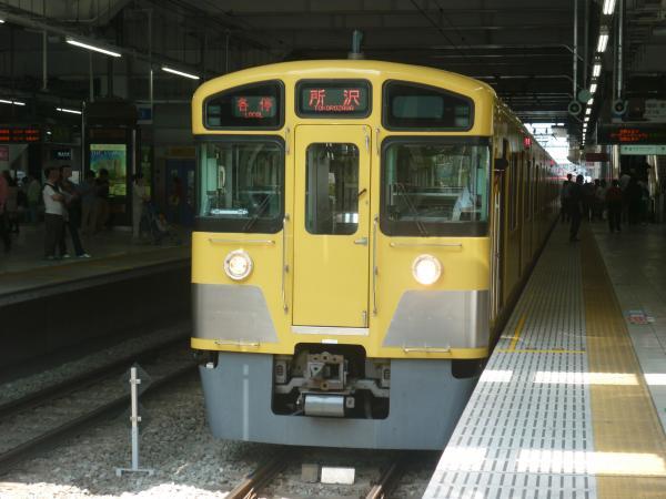 2014-05-02 西武2073F 各停所沢行き4 5305レ