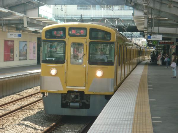 2014-07-30 西武2073F 各停保谷行き1 5715レ