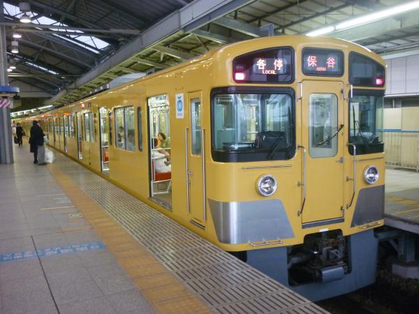 2014-08-14 西武2073F 各停保谷行き 5727レ