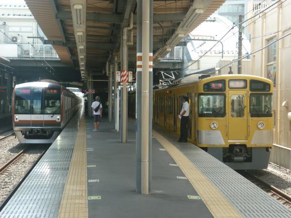 2014-08-18 西武2073F メトロ10121F