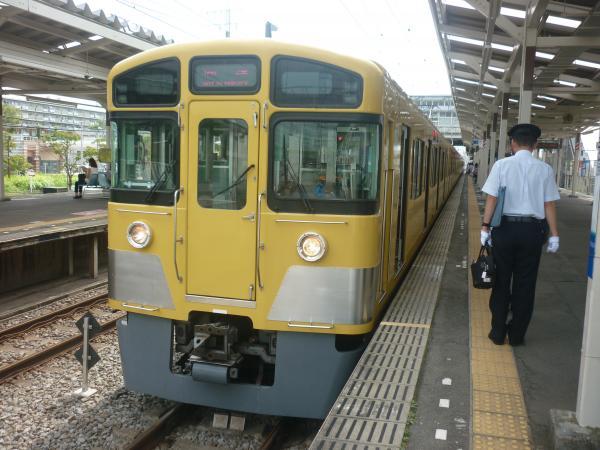 2014-08-18 西武2073F 回送1